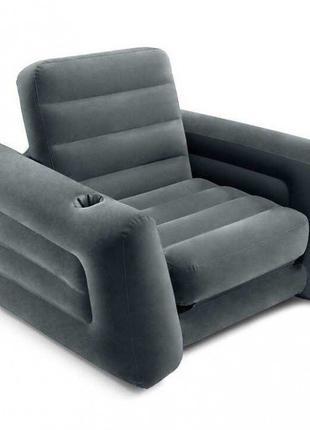 Надувное складное кресло матрас Intex 66551, 117 х 224 х 66 см