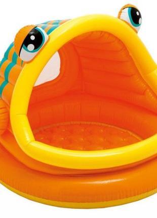 """Детский надувной бассейн """"Рыбка"""""""