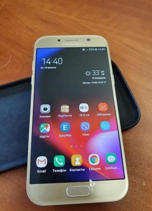 Оригинальный Samsung A5 2017 (SM-A520F) Gold