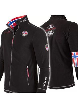 Мужская куртка Nebulus FLEECEJACKE EXPLORE S 48