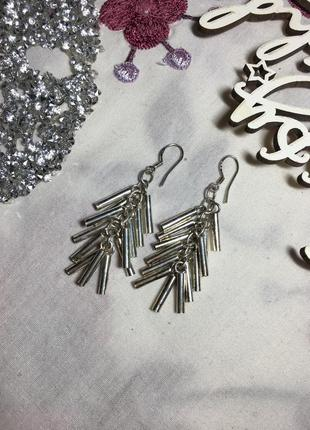 Серьги стерлинговое серебро