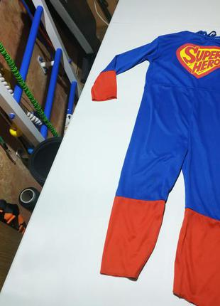 Новогодний карнавальный костюм супергероя на 4-6 лет