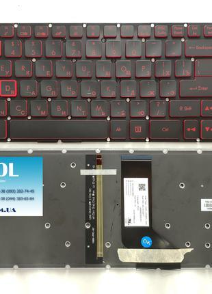Клавиатура для ноутбука Acer Nitro 5 AN515 series, подсветка