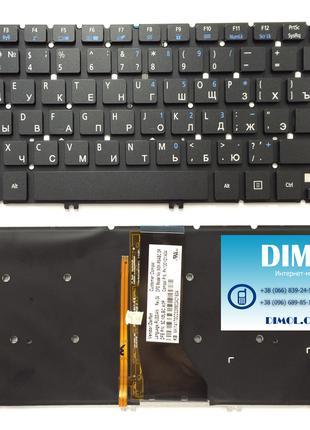 Клавиатура для ноутбука Acer Aspire R7-571, подсветка