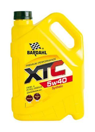 Моторное масло BARDAHL XTC 5W40 4л.