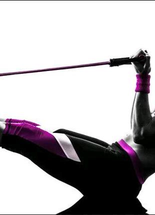 👣🍑Набор трубчатых эспандеров,👇 эспандеры, для тренировки мышц