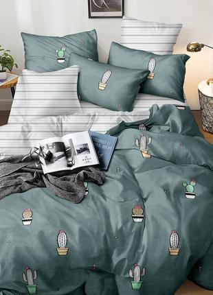 Двуспальный комплект постельного белья, ранфорс