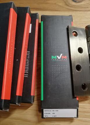 Петля дверная (100 или 125x75x3) универсальная MVM HE-100/120 ...