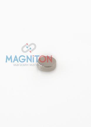 Магнит неодимовый, маленький 3х1 мм