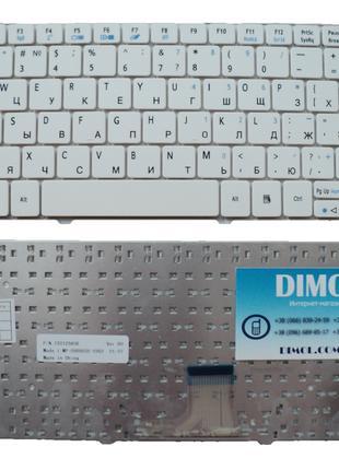 Клавиатура для ноутбука Acer Aspire 1420 series, rus, white