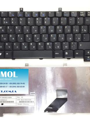 Клавиатура для ноутбука Acer Aspire 3100 series, rus, black