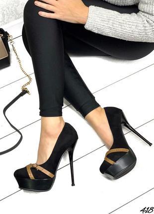 💥 распродажа крутые замшевые туфли на высоком каблуке