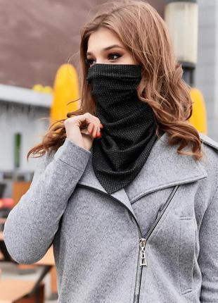 💥 стильный платок маска на шею с люрексом