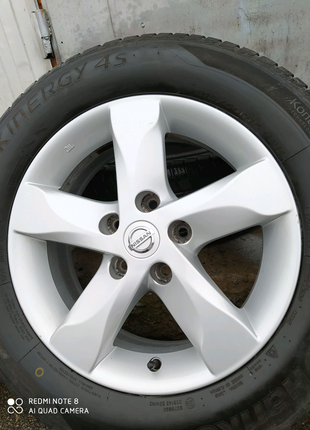 Диски литые оригинал Nissan Renault Dacia R16(5*114,3)et40