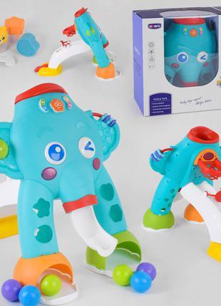 Сортер Слоник - Напольный игровой  развивающий центр для детей