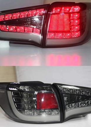 Диодные фонари Kia Sportage 3 тюнинг Led оптика