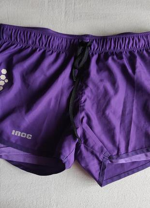 Яркие спортивные шорты 2in1 inoc.