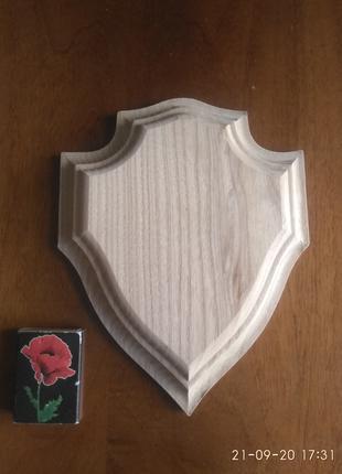 Медальон доска подставка щит для охотничьих рыболовных трофеев
