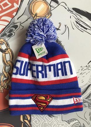 Шапка superman new era
