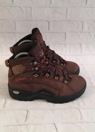 Дитячі зимові черевики lowa renegade gtx кожаные детские зимни...