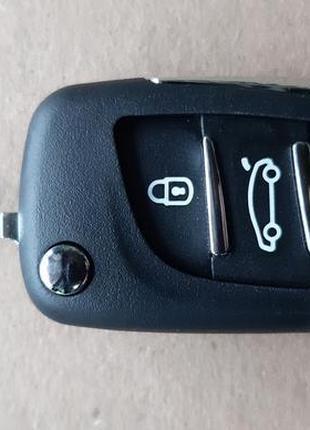 Ключ корпус Пежо Peugeot