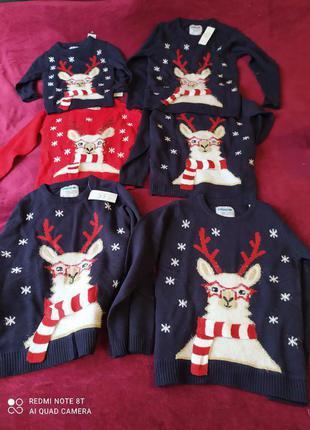 Новый свитер youngStyle Польша р 110/116 140/146/152 family look