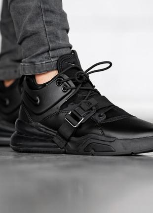 Мужские черные кроссовки nike air force 270