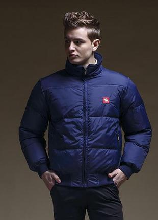 Зимняя мужская куртка пуховик abercrombie & fitch