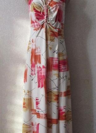 Платье флори, большой размер!