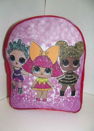Новый рюкзак для девочки кукла лол