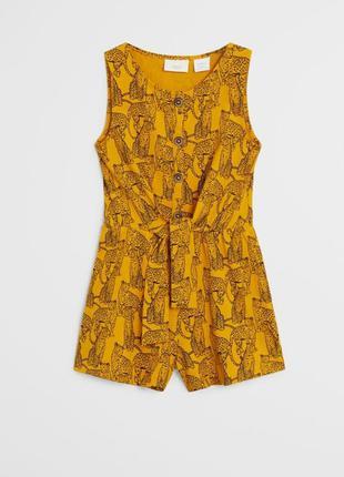 Шикарные ромперы сарафаны платья для девочек от mango
