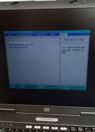 Ноутбук HP Compaq nx9020