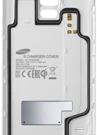 Крышка задняя Samsung EP-CG900 для бп зарядки Samsung Galaxy S5