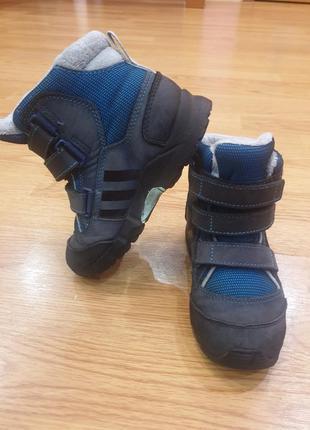 Зимние сапоги термо ботинки 25р adidas
