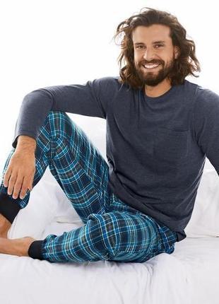 Теплый домашний костюм, мужская пижама, livergy германия, регл...