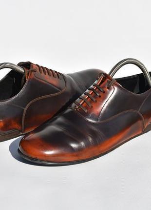 Dolce & gabbana оригинал!! мужские туфли оксфорды на осень раз...