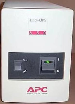 APC Back-UPS CS 650 va 410 w [bk650mi + bk650ei] ибп без акб