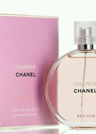 Женская туалетная вода Chanel Chance Eau Vive 100 мл