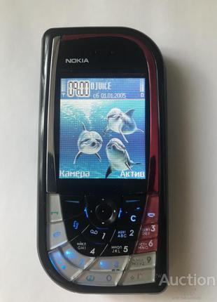 Nokia 7610, рабочий,оригинал..Коллекционное состояние..Недорого.С