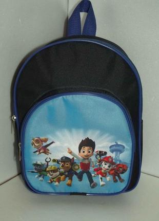 Новый рюкзак для мальчика щенячий патруль
