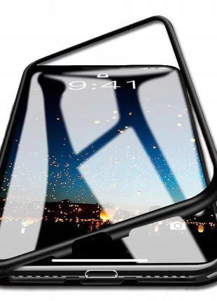 Magnetic case (магнитный чехол) для Huawei Mate 10 Lite