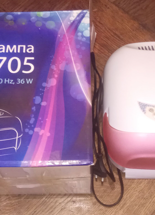 LV 705 ультрафиолетовая лампа для ногтей
