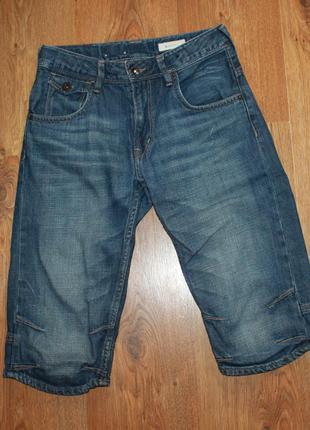 Шорты подростковые джинсовые h&m на 11-12 лет