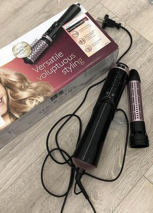 Фен-щетка для укладки волос philips hp8654/00