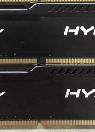 Оперативная память Kingston HyperX Fury DDR4 2133 2*4=8GB - Обмен