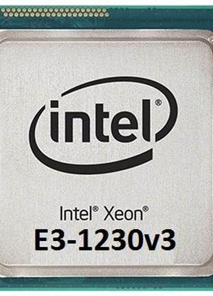 Процессор Intel Xeon E3-1270v3 3.5-3.9GHz s1150 как i7-4790 бе...
