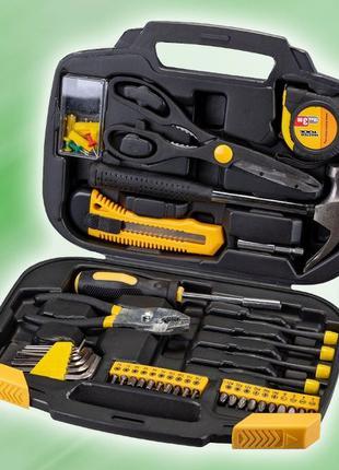 Набор инструментов, отверток, бит, молоток, ножницы, 82 ед (78...