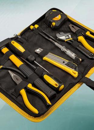 Набор инструментов, отверток, молоток, плоскогубцы, 12 ед (78-...