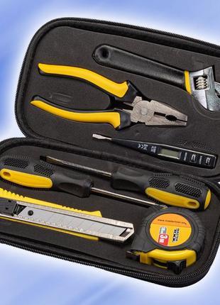 Набор инструментов, отверток, ключей, плоскогубцы 7 ед (78-0307)
