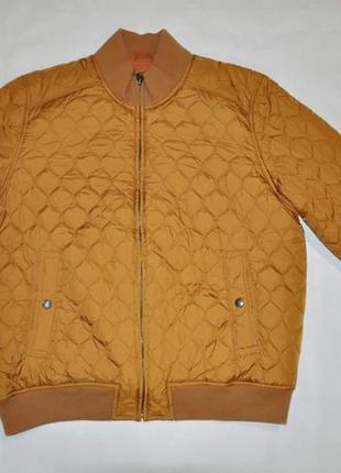 Утепленная куртка бомбер